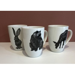 Mug animal céramique
